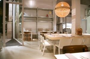 Interior del restaurante Espai Sucre