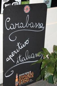 Carabassa, aperitivo italiano