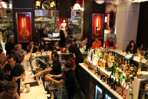barra central del Hard Rock