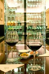 Bar del Majestic, buena selección de vinos