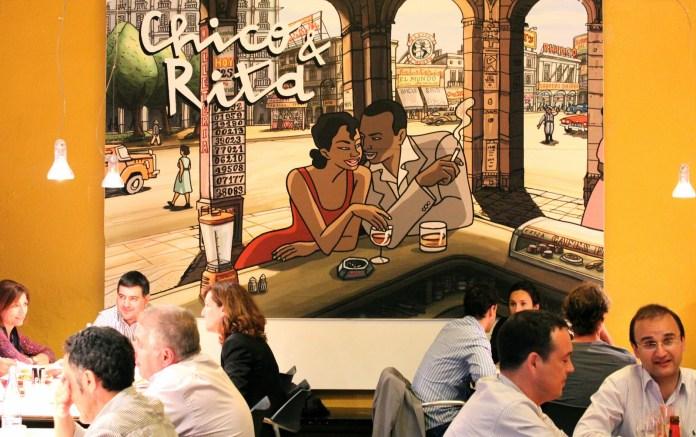 Chico&Rita en el comedor