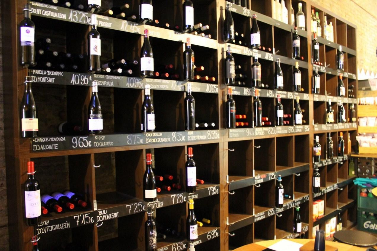 estanterías de tienda de vino | Cultibar