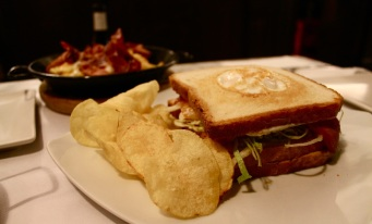El sandwich Versalles