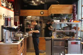 Restaurante pequeño