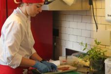 Camareros y cocineros italianos