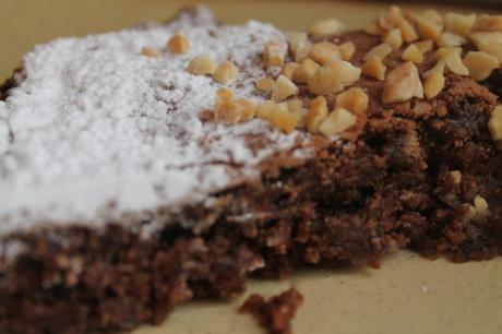 Pastel de chocolate italiano
