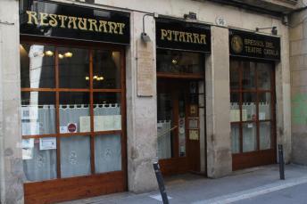 Restaurante Pitarra, en el Gótico