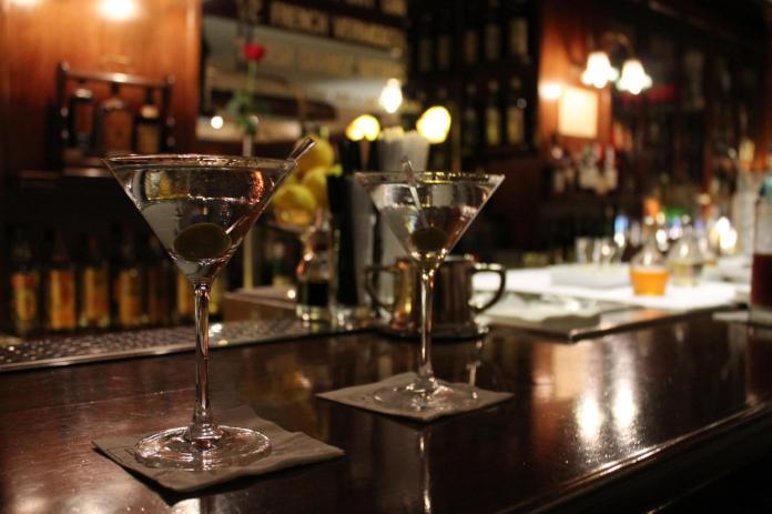 Dry martini en Dry Martini