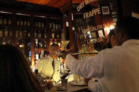 El oficio de barman