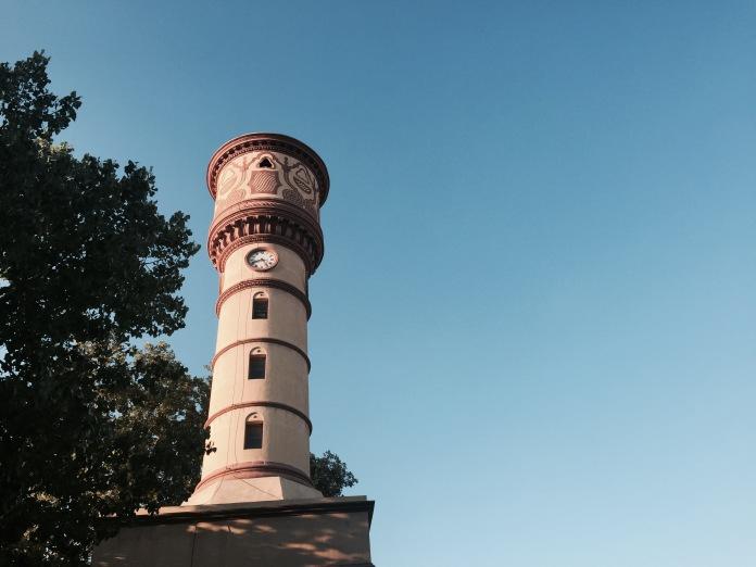 La torre de las Aguas del antiguo Matadero de Badalona
