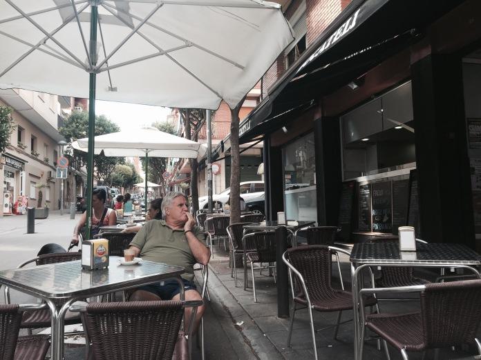 Perez Galdós, una calle hecha terraza