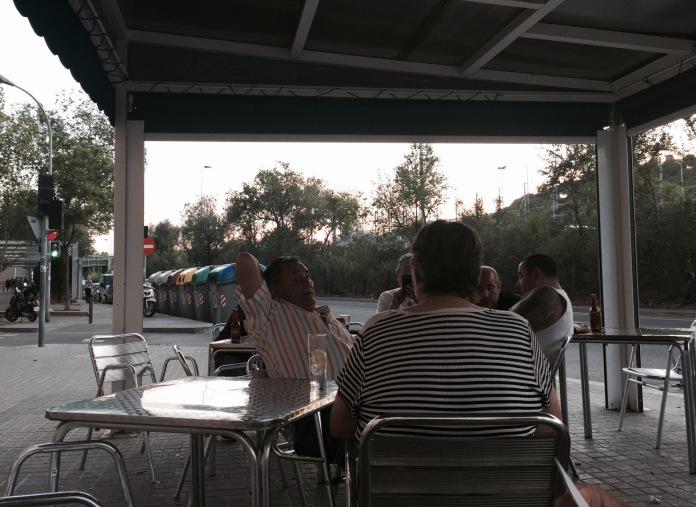 Terraza del Bar Deportivo